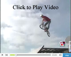 News story about Wonder Wheels BMX Stunt Team